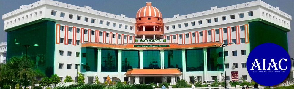AIAC Lucknow project : a proposed building of Medical College